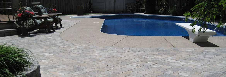 Interloc Pool Deck Installation
