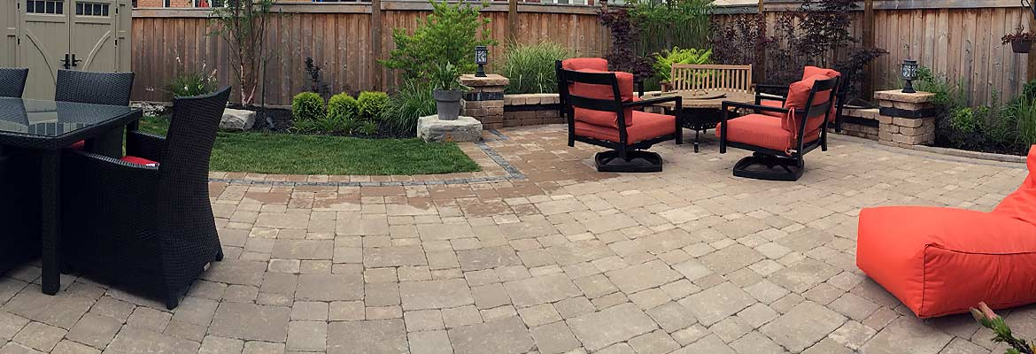 Interloc Patio Installation