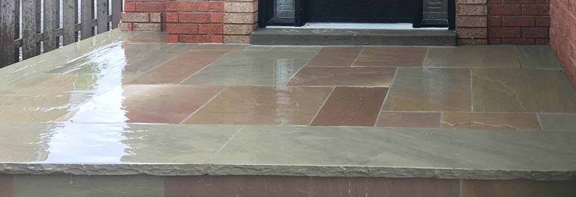 Flagstone & Natural Stone Installation in Toronto