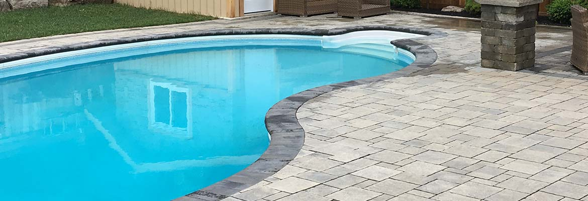 Interloc Pool Deck Installation
