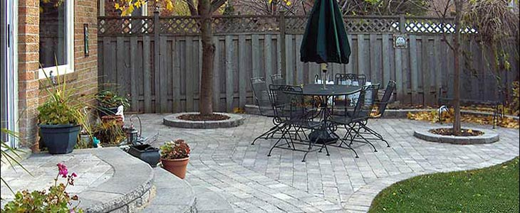 Interloc Patio Installations