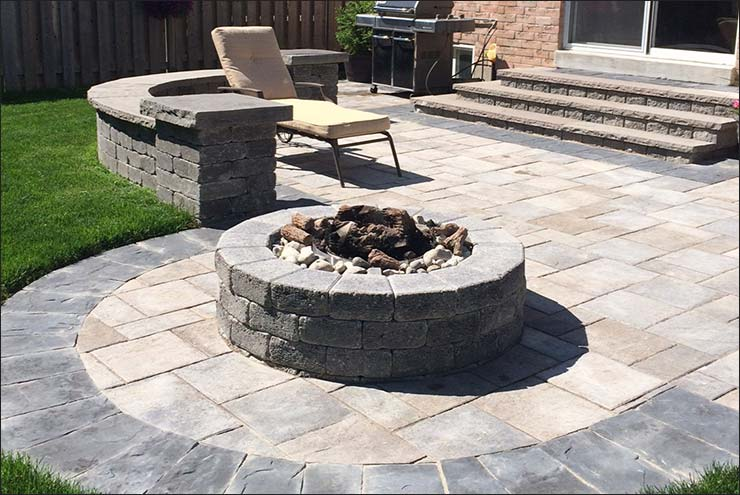 Interloc Backyard Patio Installation   Project Interloc Backyard Patio  Installation   Project ...