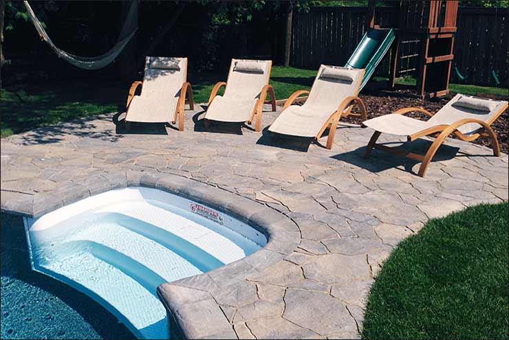 Interloc Pool Deck Installation - Project