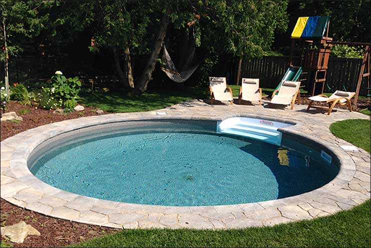 Interloc Pool Deck Installation - Project