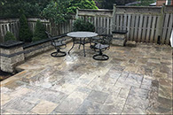 Interloc Patio Installation - Project