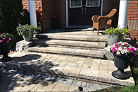 Interloc Stairs, Steps & Porch Installation - Project