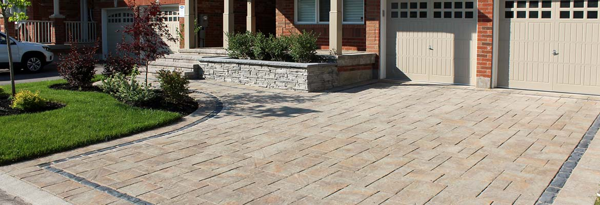 Interloc Driveway Installation in Mississauga
